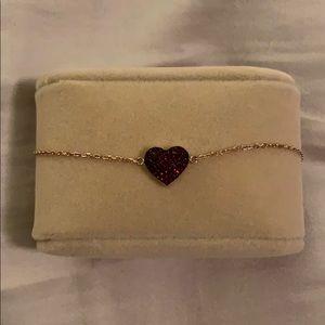 Micheal Kors heart bracelet